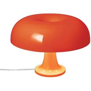 Artemide Nessino Tischleuchte in orange aus Polycarbonat