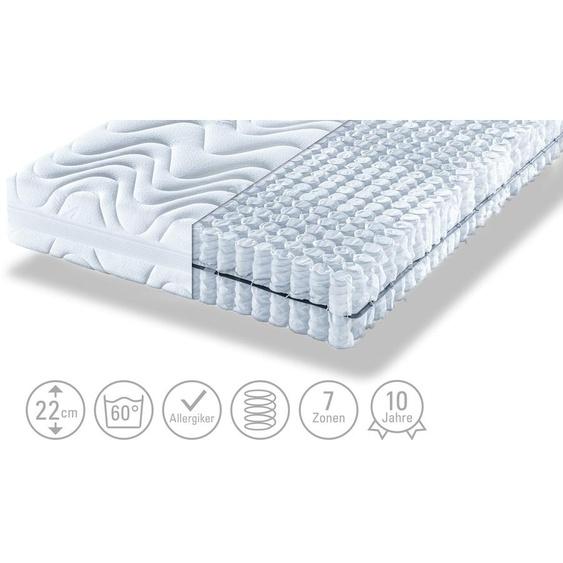 Artone Tonnentaschenfederkernmatratze  Komfort B T - weiß | Möbel Kraft