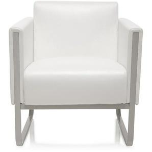 ARUBA | 1-Sitzer - Lounge Sofa Weiß