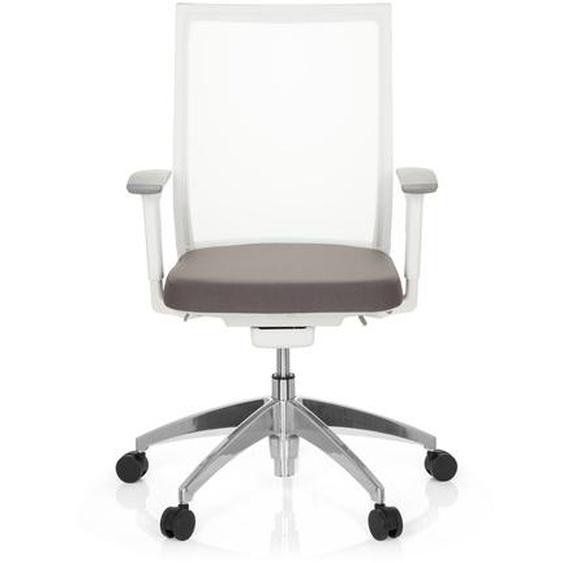 ASPEN WHITE - Profi Bürostuhl Grau / Weiß