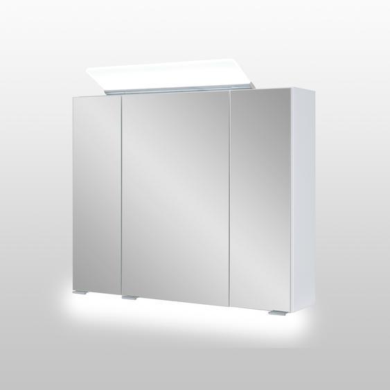 Astor LED-Spiegelschrank Lili 80 x 70 x 16 cm weiß