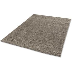 ASTRA Wollteppich Valentina, rechteckig, 12 mm Höhe, reine Wolle, Kurzflor, Wohnzimmer B/L: 170 cm x 240 cm, 1 St. grau Esszimmerteppiche Teppiche nach Räumen