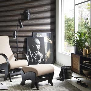 ATLANTIC home collection Relaxsessel (Set, Sessel+Hocker)
