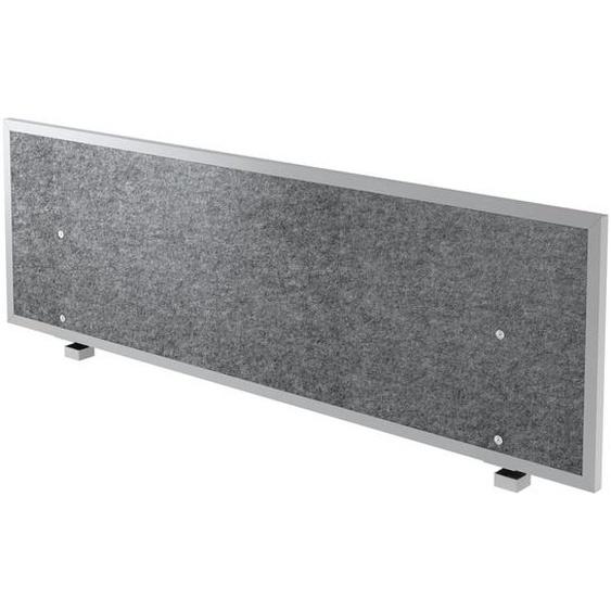 ATW 16 | Akustik-Trennwand - 160 cm Grau meliert