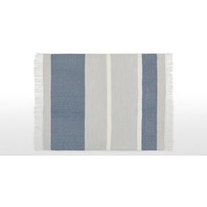 Auburn Decke, (130 x 170 cm), Blau und Grau