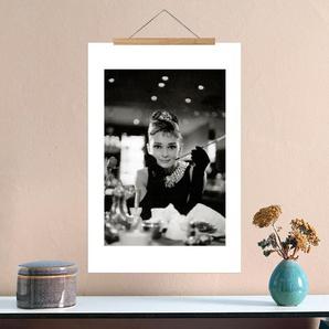 Audrey Hepburn in Breakfast at Tiffanys, 1961 - Premium Poster
