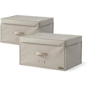 Aufbewahrungsbox für unter dem Bett aus Pappe