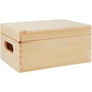 Aufbewahrungsbox Kiefer 30 x 20 x 14 cm