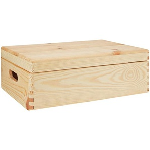 Aufbewahrungsbox Kiefer 40 x 30 x 14 cm