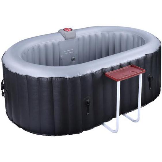 Aufblasbarer Whirlpool B-LUCKY - 2 Personen - Schwarz
