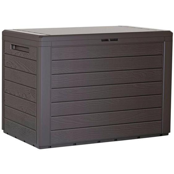 Auflagen-Box »Boxe Board«, 116.6x59.5x47 cm (BxHxT), Prosperplast, braun, Material Kunststoff