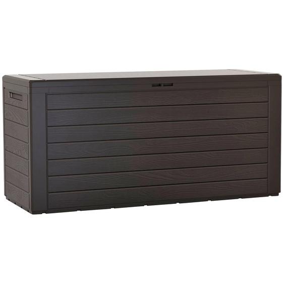 Auflagenbox »Boxe Board«, 116.6x59.5x47 cm (BxHxT), Prosperplast, braun, Material Kunststoff
