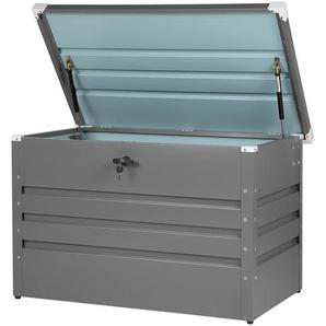 Auflagenbox Stahl grau 100 x 62 cm CEBROSA
