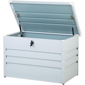 Auflagenbox Stahl cremeweiss 100 x 62 cm CEBROSA