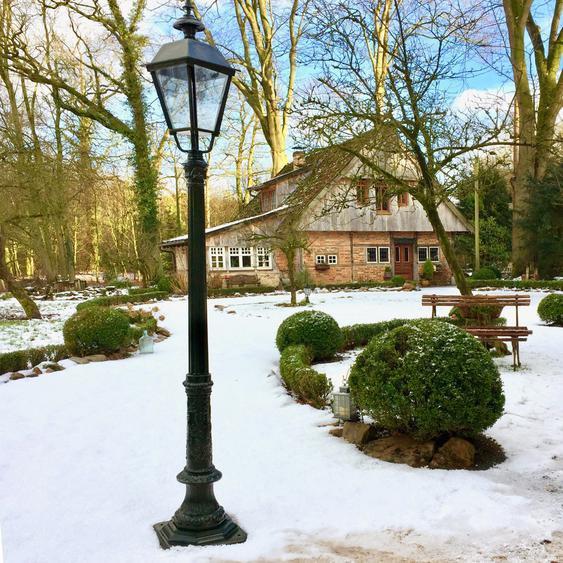 Aussenlampen Garten Nostalgie Leuchten Lampen Parklaternen Weg Retro - H.235 cm