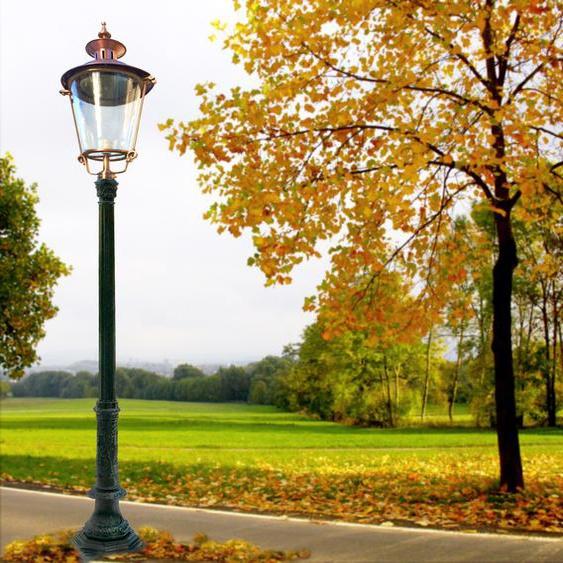 Aussenleuchte Antike Parklampe Garten Aussenlampe - Vorgartenlampen - H.256 cm