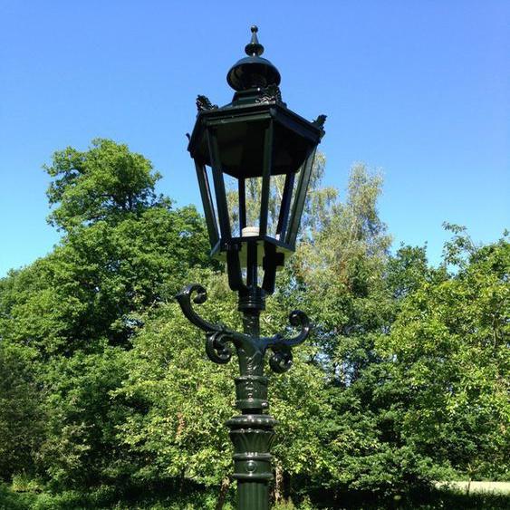 Außenleuchte, Gartenlaterne, Lampen für den Garten, Alt-Paris Höhe 325 cm