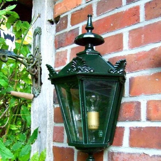 Außenleuchte im Landhausstil, schöne Wandlampe für den Hauseingang, Alkmar 55 cm