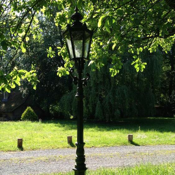 Außenleuchte, Park-Laterne, Gartenlampen, Straßenlaterne Alt-Paris, Höhe 218 cm