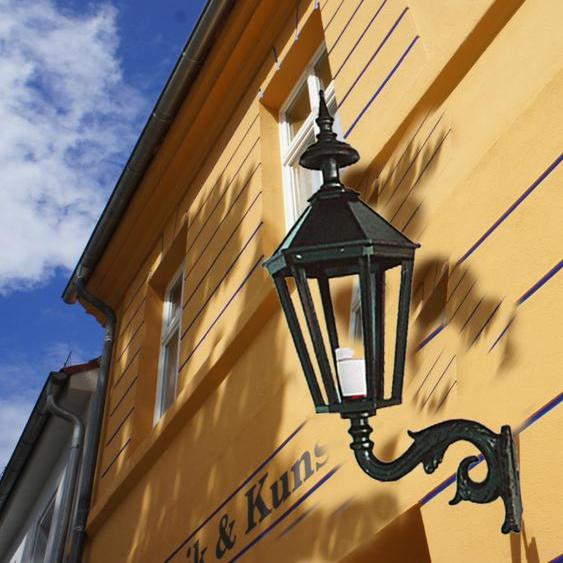 Aussenleuchte, schöne Aussenbeleuchtung für den Eingang, Aussenlampe Gent H 70