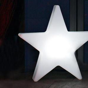 Außenleuchte Shining Star 8 seasons design weiß, Designer 8 seasons design GmbH, 76x72x16 cm