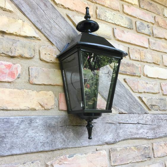 """Außenleuchte """"Triest"""", Außenlampe, Haustür, Wandlampe, schwarz, 52cm"""
