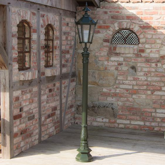 Aussenleuchten, Garten Lampe, stehende Nostalgie Lampen, Terrassen Lampe 205 cm