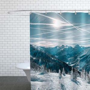 Austrian Alps in Winter - Duschvorhang