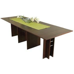 Ausziehbarer Tisch in Nussbaumfarben Esszimmer