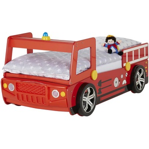 Feuerwehrbett, 90x200 cm | mehrfarbig | 108 cm | 91 cm | 225 cm |