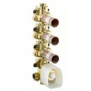 hansgrohe Axor Starck Grundkörper Thermostatmodul DN20 - 10750180