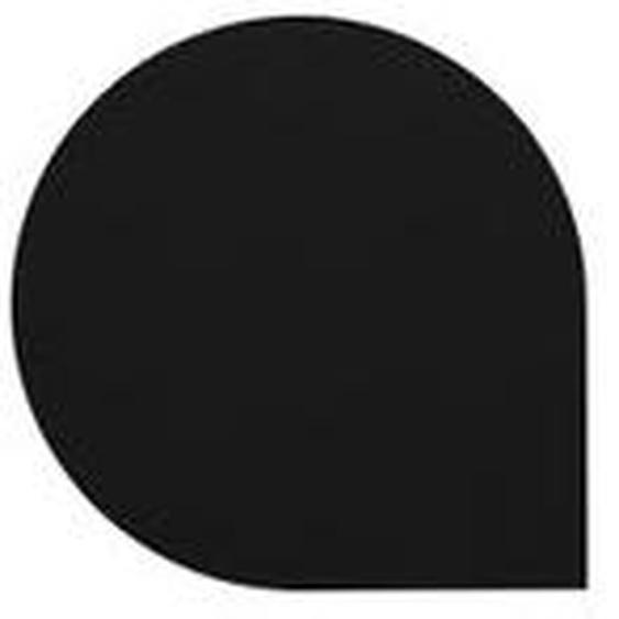 AYTM - Stilla Glasuntersetzer, 10 x 10 cm, schwarz (4er-Set)