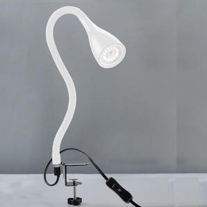 B.K.Licht,LED Klemmleuchte Sirius (weiß)