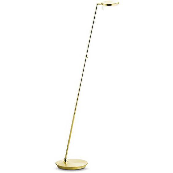 B-LEUCHTEN LED-Stehlampe, Messing, Metall