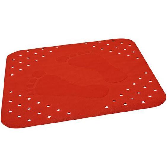 B1 Duscheinlage Plattfuß rot 54 x 54 cm