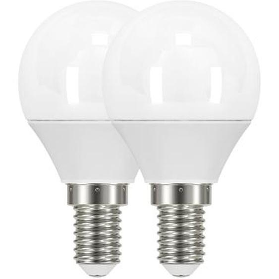 B1 LED-Tropfenlampe E14 250 lm 3,1 W warmweiß 2er Pack