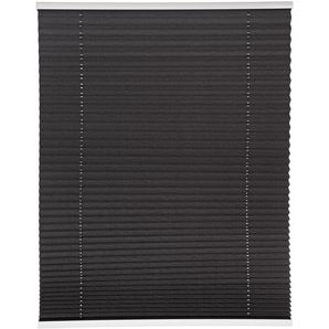 B1 Tageslichtplissee Klemmfix dunkelgrau 100 x 130 cm