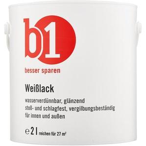 B1 Weißlack glänzend 2 l