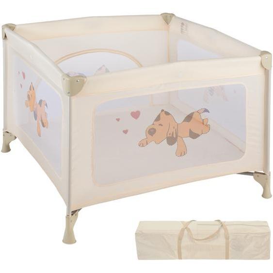 Baby Laufstall Tommy Junior - beige