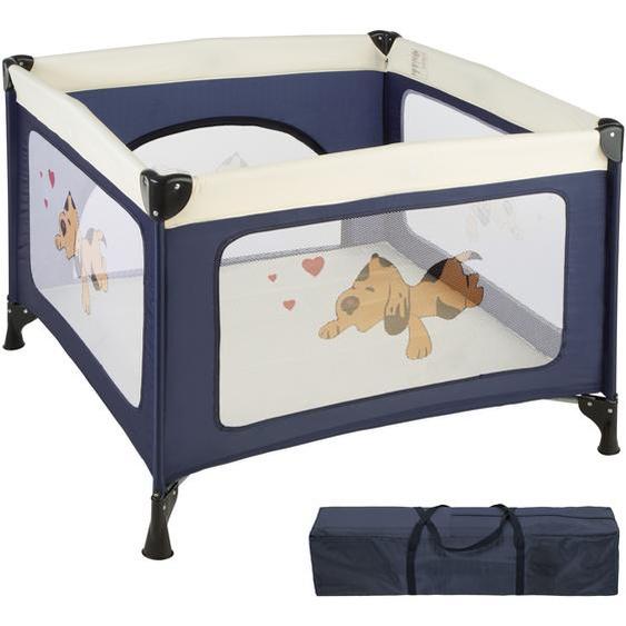 Baby Laufstall Tommy Junior - blau