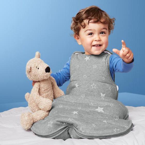 Baby-Schlafsack - weiß - 100% Baumwolle -
