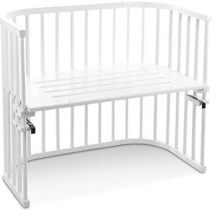 babybay Anstellbett ,Weiß ,Holz