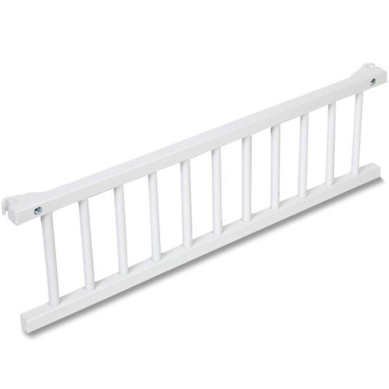 babybay Verschlussgitter, Weiß, Holz