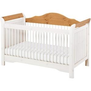 Babybett Lotta (70x140, Kiefer, weiß)