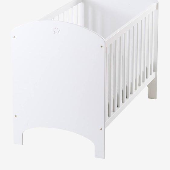 Babybett Sirius mit verstellbarem Bettboden weiß