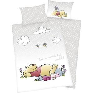 Babybettwäsche »Winnie the Pooh«, Walt Disney, mit Hoteleinschlag