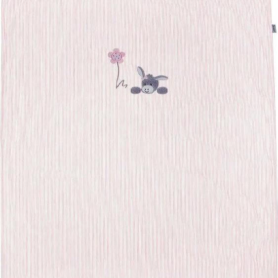 Babydecke Emmi Girl, Sterntaler 70x100 cm, Baumwolle-Polyester rosa Baby Babydecken Decken Wohndecken