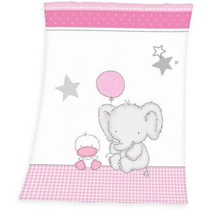 Babydecke »Fynn Elefant«, Baby Best, mit Elefant & Ente