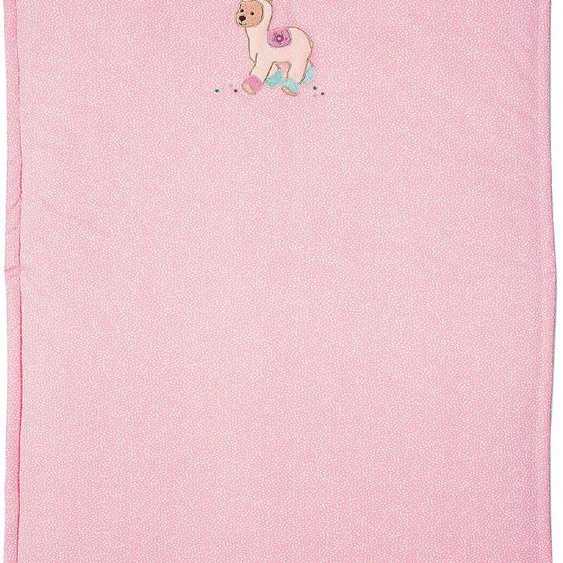 Babydecke Lotte, Sterntaler 75x100 cm, Baumwolle rosa Baby Babydecken Decken Wohndecken