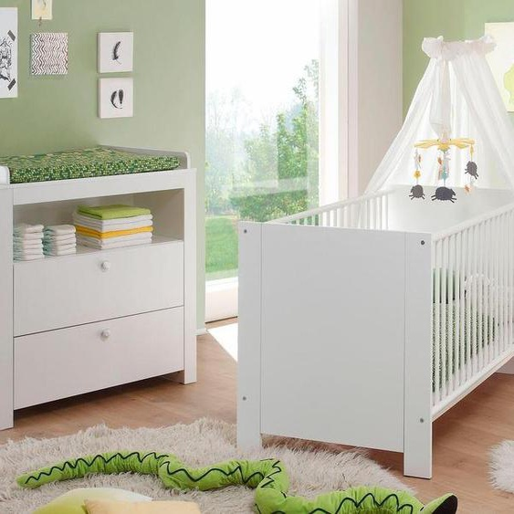 Babymöbel-Set »Trend«, (Spar-Set, 2-St), Bett + Wickelkommode